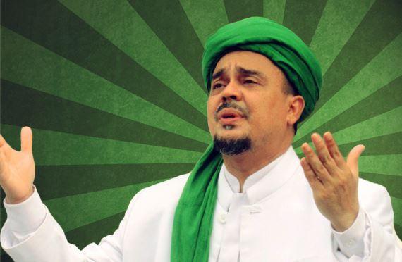 Habib Rizieq (Foto: Jernih.co)