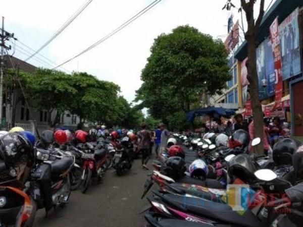 Ilustrasi lahan parkir di Kabupaten Malang yang pajaknya dikelola Bapenda (Foto : Dokumen MalangTIMES)