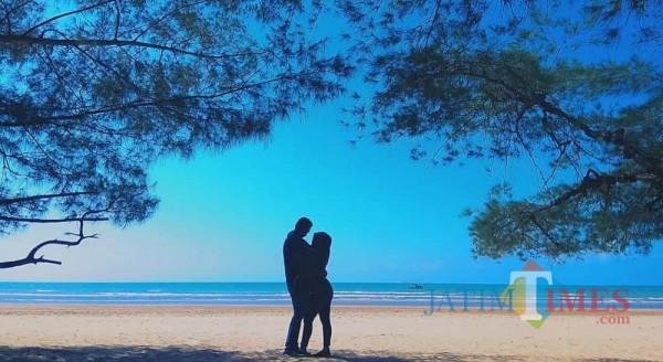 Keindahan destinasi wisata pantai lombang Sumenep (sumber foto: lombang sumenep)