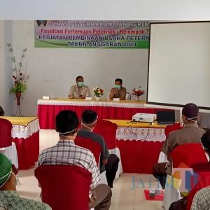 Perkokoh Ekonomi Desa, Disnak Pemkab Blitar Gelar Pelatihan Limbah Ternak