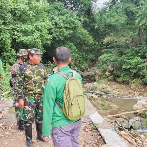 Kodim Bojonegoro Patroli Wilayah untuk Pemberdayaan Sumber Air di Desa Gondang