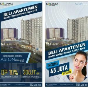 Cobain Bisnis Sewa Apartemen Menguntungkan di The Kalindra Malang