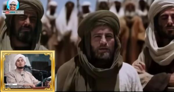 Cuplikan ilustrasi ceramah Habib Jalam bin Toha Baagil (YouTube Fakta Ulama99).