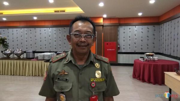 Kepala Sarpol PP Kota Malang, Priyadi (Dokumentasi MalangTIMES).