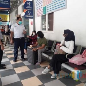 Pastikan Prokes Dijalankan, Dishub Pantau Kesiapan Stasiun Malang Jelang Libur Panjang