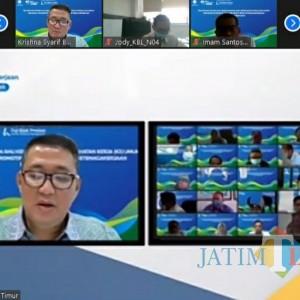 Cegah Covid-19, BPJamsostek Jatim Gelar Pelatihan Ahli K3 Umum Secara Virtual