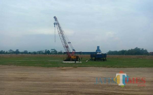 Berkapasitas 6 Ribu, GOR Kabupaten Kediri Masuki Tahap Pembangunan Pertama