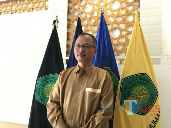 Rektor UIN Malang Prof Dr Abdul Haris MAg. (Foto: Ima/MalangTIMES)