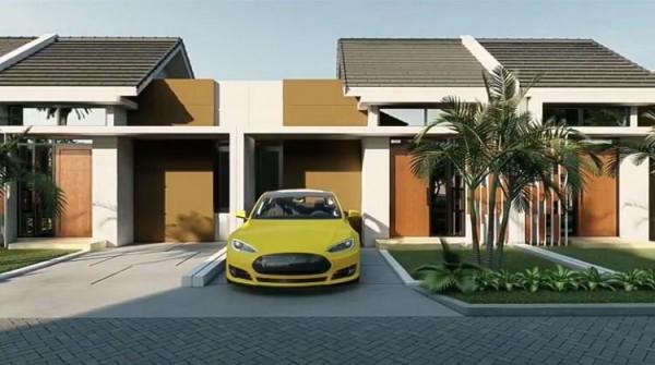 Ilustrasi rumah 1 lantai Taman Tirta Karangploso Malang. (Foto: istimewa)