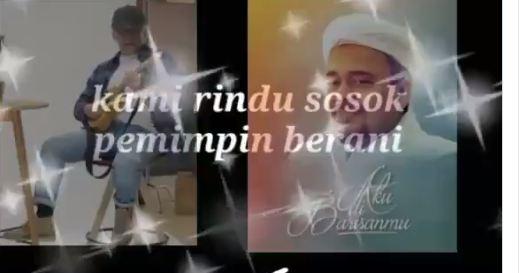 Viral Suara Mirip Iwan Fals Nyanyikan Lagu untuk Menyambut Kepulangan Habib Rizieq