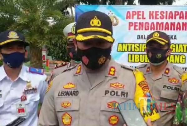Kapolres Blitar Kota, AKBP Leonard M Sinambela