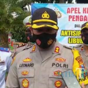 Kapolres Blitar Kota: Uang Denda Operasi Yustisi 100 Persen Masuk ke Kas Daerah