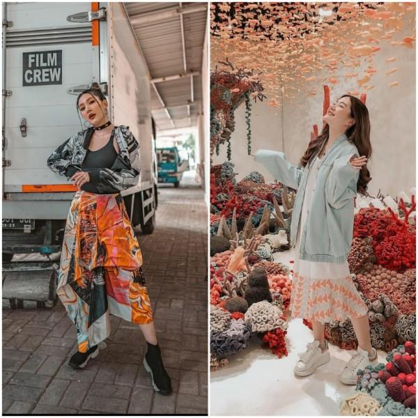 Mirip Artis Korea Sungguhan, Intip Inspirasi Outfit Ala Influencer Michimomo Berikut