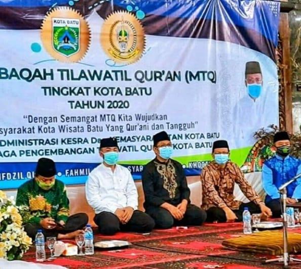 DPRD Kota Batu Apresiasi Musabaqah Tilawatil Qur'an, Ajarkan Disiplin dan Tabah Cobaan Saat Pandemi