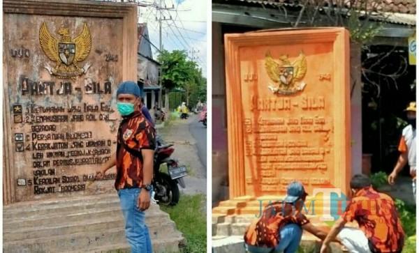 Ketua PP Lumajang Agus Setiawan Ajak Masyarakat Rawat Simbol Negara