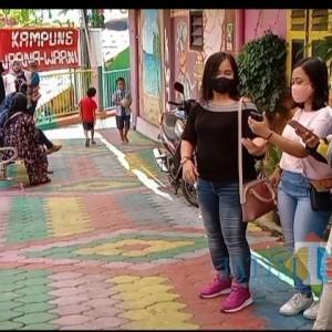 Long Weekend, Pengunjung Kampung Warna-Warni Jodipan Malang Meningkat