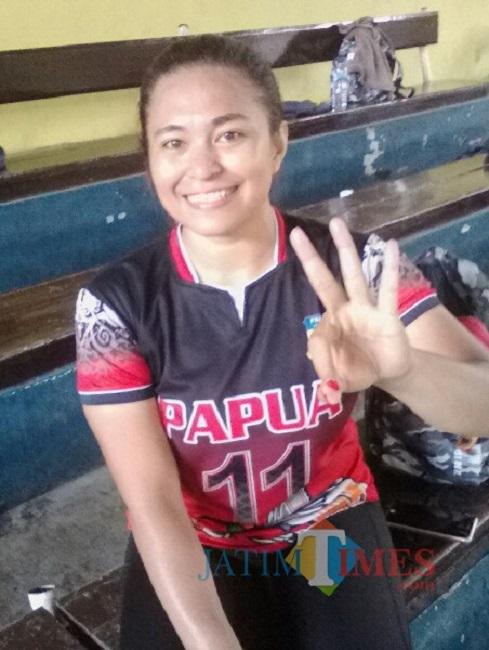 Alfani R. Maswatu, Kapten Tim Bola Volley Putri PON Papua Nurhadi Banyuwagi Jatim Times