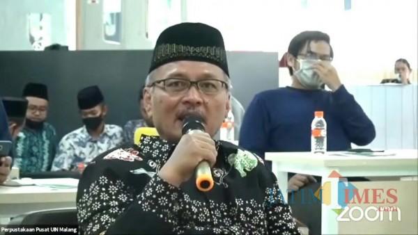 Rektor UIN Malang Prof Dr Abdul Haris MAg (Foto: Ima/MalangTIMES)