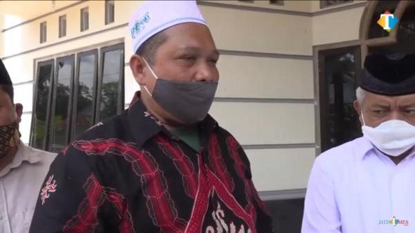 KH Ahmad Hariri tokoh agama sekaligus koordinator TPQ Kecamatan Gedangan (MalangTimes)
