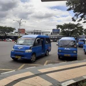 Long Weekend, Angkot di Kota Malang Sepi Penumpang