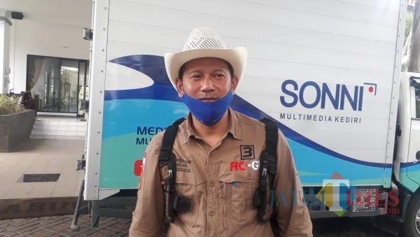 Calon Bupati Malang, Heri Cahyono saat ditemui awak media di Gedung DPRD Kabupaten Malang, Jumat (30/10/2020). (Foto: Dok. Jatim Times)