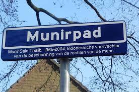 Jalan Munirpad di Den Haag, Belanda. (Foto:  EGINDO.co)