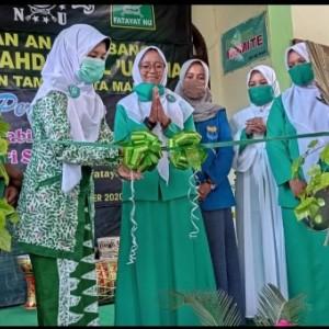 Fatayat NU Kecamatan Taman Gelar Peringatan Maulid Nabi sekaligus Launching Seni Marawis Faqoma