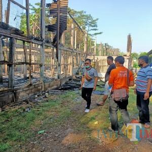 Kandang Ayam di Ngembul Blitar Terbakar, Pemilik Rugi Rp 350 Juta