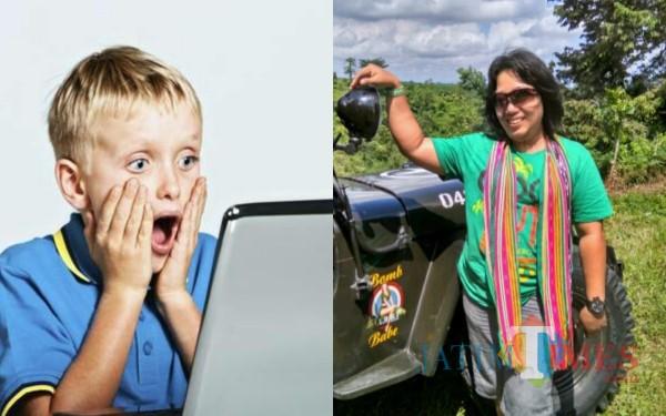 Ilustrasi (kiri), Psikolog Tulungagung Ivada Nurohmaniah (kanan) / Foto : Istimewa / Tulungagung TIMES