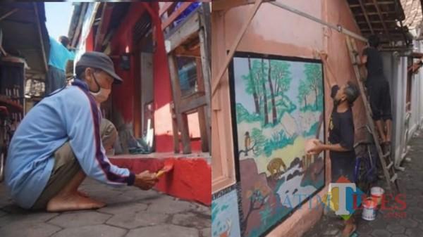 250 Rumah di Kelurahan Kejuron Kota Madiun Kini Tampil Cantik