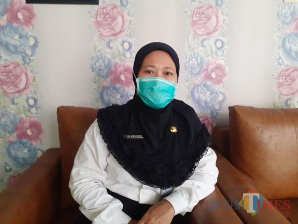Kepala Puskesmas Arjuno, dr Ida Megawati. (Arifina Cahyanti Firdausi/MalangTIMES).