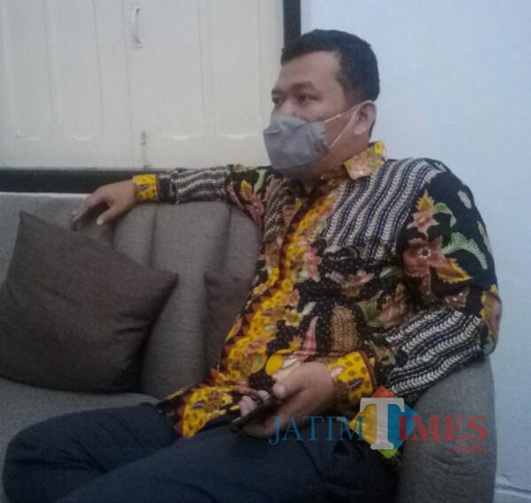 Joyo Adi Kusumo dari Divisi Penanganan Pelanggaran Bawaslu Banyuwangi (Nurhadi Banyuwangi Jatim Times)