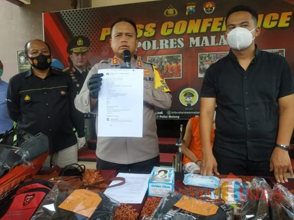Gerilya di Medsos, Penjahat Kelamin Dibekuk Polres Malang