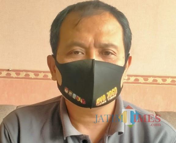 Ketua Bawaslu Kabupaten Blitar Hakam Sholahudin.