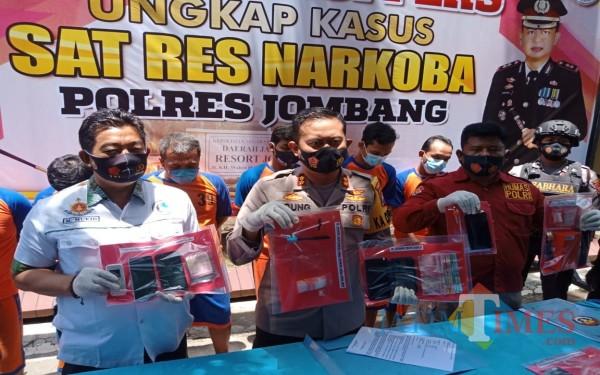 Satu Bulan Terakhir, 12 Budak Sabu di Jombang Diringkus Polisi
