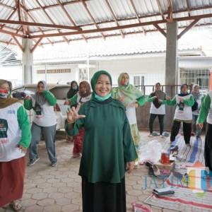 Bu Nyai Lathifah Bawa Branding Cucu Pendiri NU, Dukungan Masyarakat Terus Mengalir
