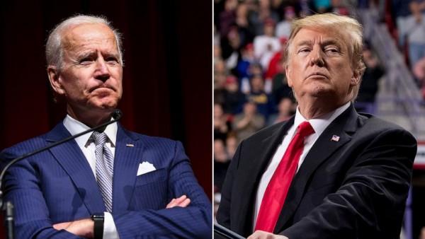 Joe Biden dan Donald Trump (Foto:  ABC News)