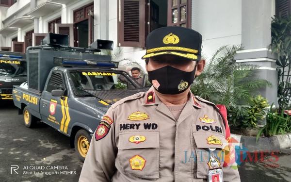 Kapolsek Blimbing Kompol Hery Widodo (Anggara Sudiongko/MalangTIMES)