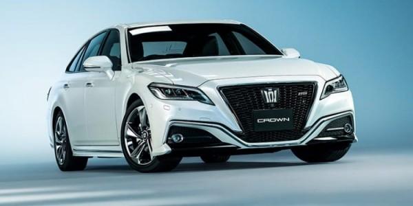 Jadi Kendaraan Para Menteri, Toyota Crown Dapat Pembaruan di Jepang, Ini Tampilan Anyarnya
