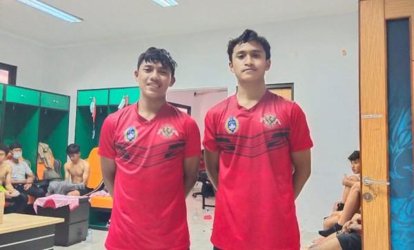 Dua pemain Akademi Arema yang terpilih Garuda Select (istimewa)