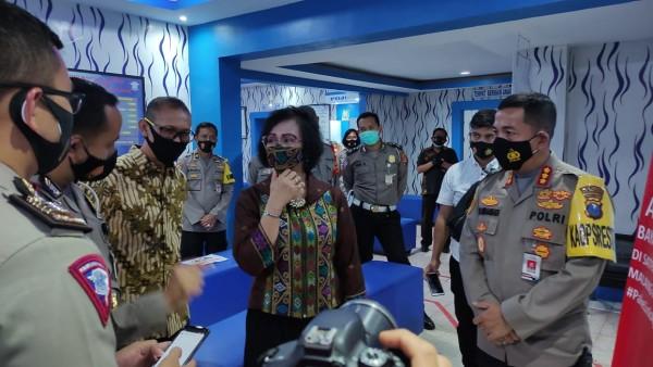 Suasana penilaian tim internal Mabes Polri dan Polda Jatim (Humas Polresta Malang Kota)