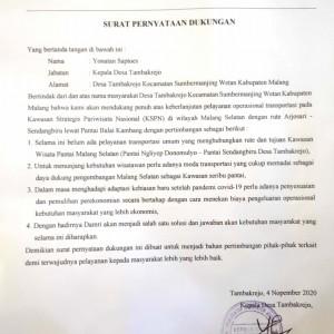 Warga Sumbermanjing Tuntut Bus DAMRI Beroperasi Lagi
