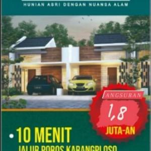 Booking Segera! Perumahan Taman Tirta Dekat Tol Surabaya-Malang Angsurannya Rp 1,8 Juta