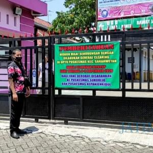 Dua Nakes Reaktif Rapid Test, Puskesmas Sananwetan Kota Blitar Ditutup sementara