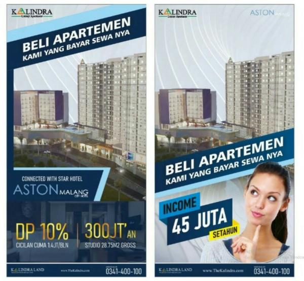 Bisnis Sewa Apartemen The Kalindra Malang Pasti Laku dan Pasti Income