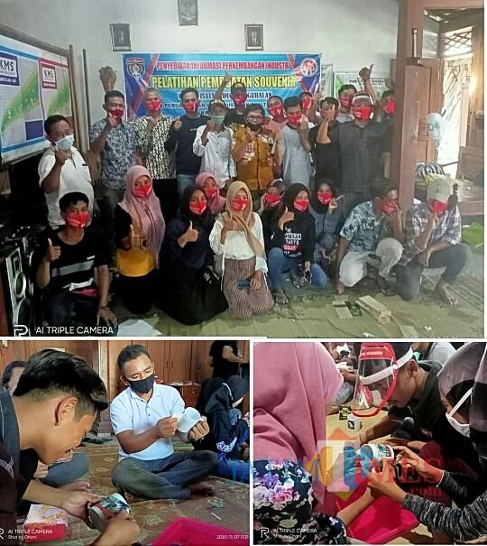 DPPTK Ngawi Latih Muda-Mudi Kreasi Souvenir