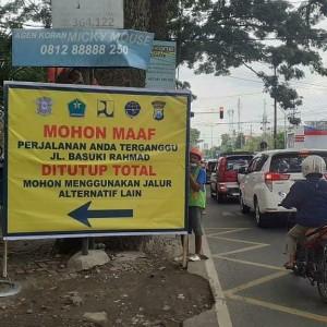 Uji Coba Penutupan Jalan Basuki Rahmat Jelang Pembangunan Proyek Kayutangan Heritage