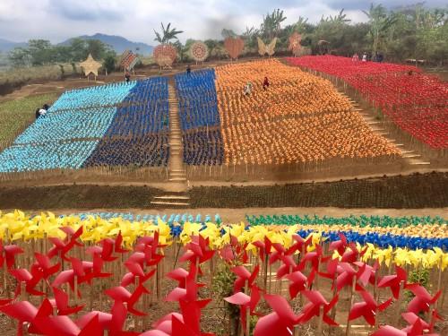 Salah satu tempat wisata Bumi Kitiran di Desa Bumiaji, Kecamatan Bumiaji. (Foto: Irsya Richa/MalangTIMES)