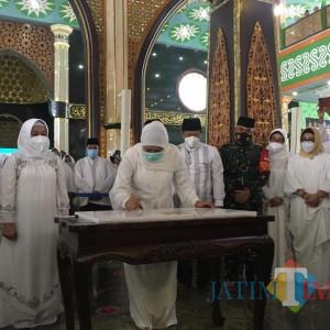 Setelah 5 Tahun Direnovasi, Gubernur Jatim Hadiri Peresmian Masjid Al-Fattah Mojokerto