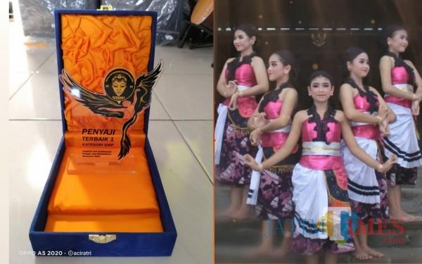 Tari Dedeg Ajeg dari SMP Negeri 3 Tulungagung Ini Sabet Juara Nasional, Lihat Eloknya..